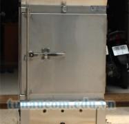 Tủ nấu cơm 4 khay điện gas